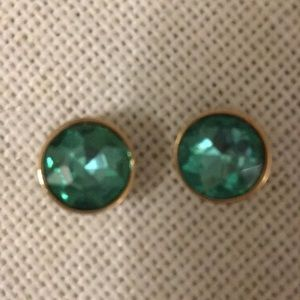 Marc by Marc Jacobs earrings, green, round